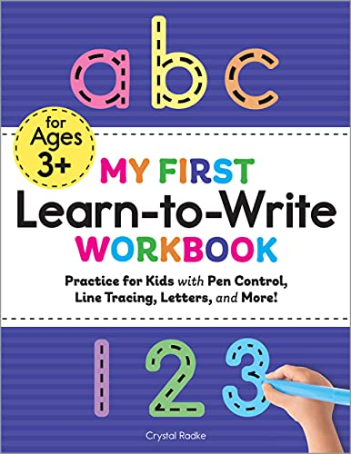 My First Learn to Write Workbook: Practice for Kids with Pen...