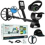 Nokta Makro Simplex+ WHP Waterproof Detector with 11' Coil & Wireless Headphones