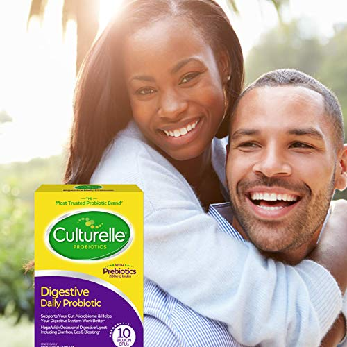 Culturelle Daily Probiotic, 30 count Digestive Health Capsules | Works Naturally with Your Body to Keep Digestive System in Balance* | With the Proven Effective Probiotic† | Packaging May Vary 6