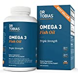 Dr. Tobias Omega-3 Fish Oil, Triple Strength, Supports Brain & Heart Health,...