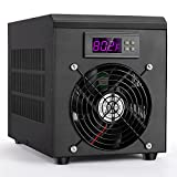Aquarium Water Chiller Cooler Warmer with Pump 50-104 °F Temperature Setting Suitable for 16gal Water for Home Aquarium Fish Shrimp Coral Jellyfish 200-300 L/H (60L Chiller & Heater)