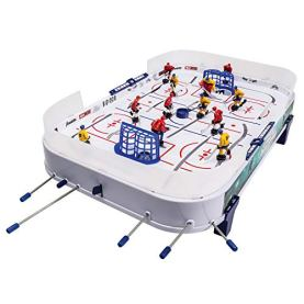 Franklin Sports Rod Hockey - Family Table Top Game with 12 Hockey Players - Fast Paced Hockey Action for Kids