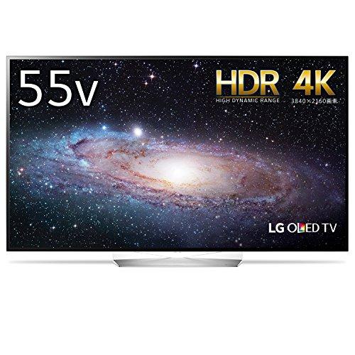 LG 55V型 有機EL テレビ OLED55B7P 4K HDR対応 外付けHDD録画対応(裏番組録画) 2017年モデル