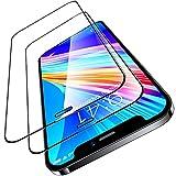 TORRAS 全面保護 iPhone 12 用ガラスフィルム iPhone 12 Pro 用ガラスフィルム 2枚セット ガイ……