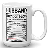 Valentines Day Gifts for Husband from Wife - Husband Nutrition Facts...
