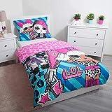 LOL Surprise Parure de lit Simple en Coton