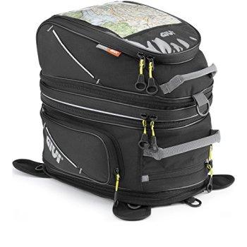 Givi EA103B Easy Bag Bolso Depósito con Imán, Volumen 33-42 litros, Carga Máxima 2 Kg, Negro