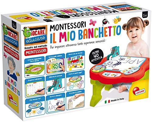 Lisciani Giochi - 76734 Gioco per Bambini Montessori il Mio Primo Banchetto