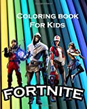 coloring book for kids fortnite: Coloring pages for kids and adults: Fortnite Coloring Book For Kids And Adults, Characters,New Heroes,101 pages