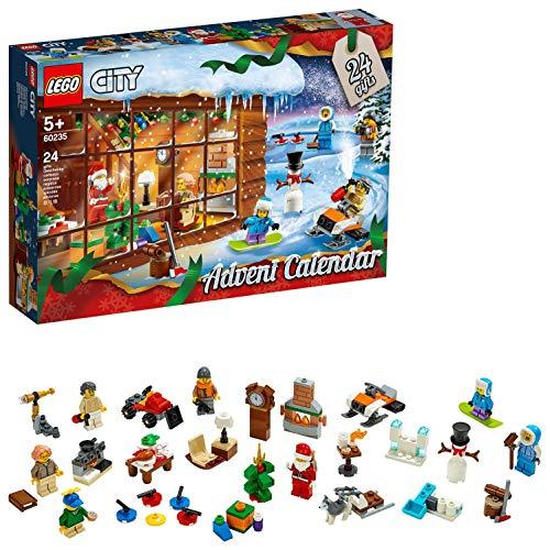 LEGO Calendario Dell'Avvento City Costruzioni Piccole