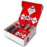 Christmas Box Coca-Cola (idea regalo con pack di Natale Coca-Cola e con bicchieri Coca-Cola)
