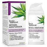 Crema Antiedad Hidratante con Retinol InstaNatural - Loción Antiarrugas Para Su Rostro - Reduce la...