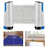 Weeygo Filet de Ping Pong, Filet de Tennis de Table Rétractable/Set de...