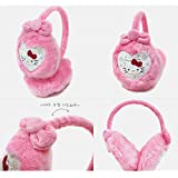 Hello Kitty Sanrio Ear Muff Pink Heart : for Kids
