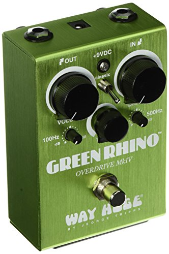 Way Huge Green Rhino Overdrive MKIV Guitar Pedal