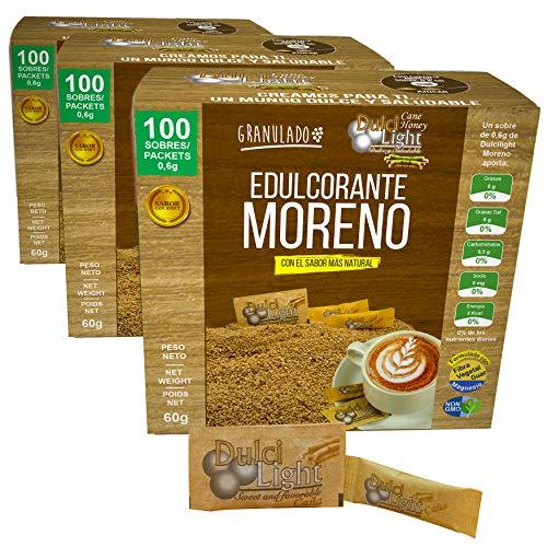 EDULCORANTE MORENO DULCILIGHT 300 Sobres, Natural Granulado