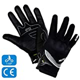 MAXAX Gants Moto Motocross Scooter Homologués CE Gant Tactile Respirable...