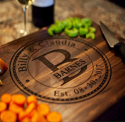 Personalized Cutting Board, USA Handmade Cutting Board -...