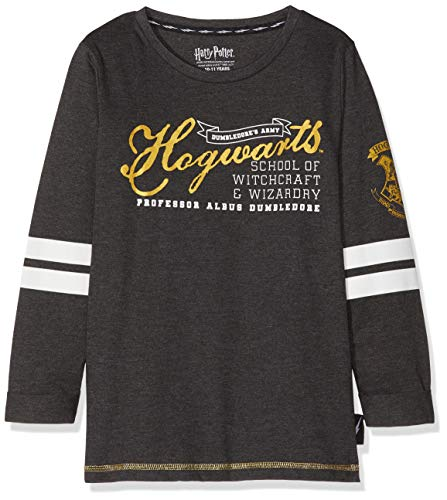 Harry Potter - Camiseta para niñas - Hogwarts - 6 - 7 Años