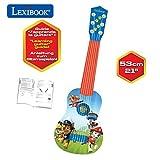 Lexibook K200PA Ma Première Guitare Paw Patrol La Pat'Patrouille Chase, 6...