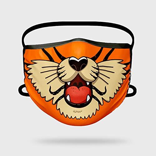 Missborderlike - Mascarilla Niño Tigre