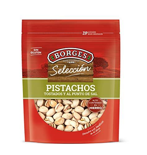 Borges Pistachos con Cáscara Tostados y Salados, 130g
