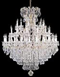 Large Foyer/Entryway Maria Theresa Empress Crystal (tm) Chandelier Chandeliers Lighting! H 60' W 52'