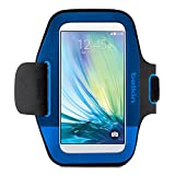 Belkin Sport-Fit Armband for Samsung Galaxy S6 (Blue)