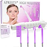 High Frequency Machine, Portable Handheld High Facial Frequency with 4 Pcs Argon Gas Wand -Violet
