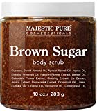 Brown Sugar Body Scrub for Cellulite and Exfoliation - Natural Body...