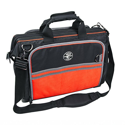 3. Klein Tools 554181914 Tradesman Pro Organizer Ultimate Electrician's Bag