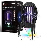 Lampe Anti-Moustique Extraterrestre, Lampe Anti-Moustique Domestique, avec lumière d'ambiance Nocturne, autonomie de la Batterie 14 Heures, Convient à la...