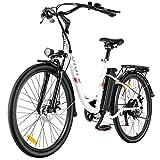 VIVI Vélo Electrique 250W Vélo Electrique Adulte 26' Vélo Cruiser...