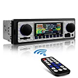 Aigoss Autoradio Bluetooth, Car Stereo Main Libre 4x60W FM Radio Voiture...