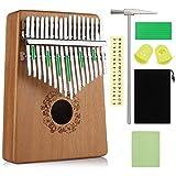 Anpro Kalimba 17 Clés Pouce Touches Piano Professionnel 1pcs Marimbas...