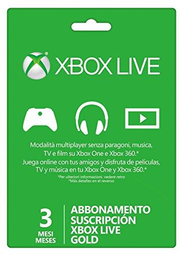 Microsoft Xbox 360 LIVE 3m Gold Subscription - Spielkonsolenzubehör