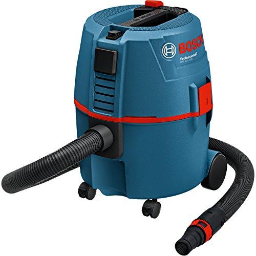 Bosch Professional Aspirateur Filaire pour solides et liquides GAS 20 L SFC (1200 W, Contenance de la cuve brute : 19 l, pack d'accessoires)