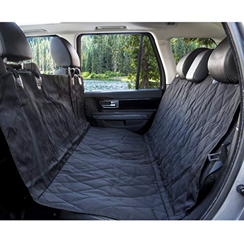 BarksBar Pet Car Seat Cover with Seat Anchors for...
