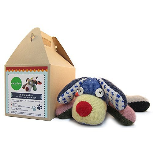 Cate & Levi - Stuffed Animal Making Kit - Unique Child Gift - Machine Washable (Dog) [並行輸入品]