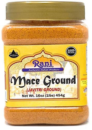 Rani Mace Ground (Javathri) Pulver 454 g ~ 1,5 kg ~ komplett natürlich   vegan   glutenfreie Inhaltsstoffe   nicht gentechnisch verändert