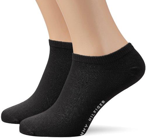 Tommy Hilfiger 342023001, Calcetines para Hombre, Negro (Black 200) 39/42 (Tamaño del fabricante:039)