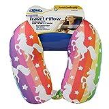 Cloudz Patterned Microbead Travel Neck Pillows - Unicorn
