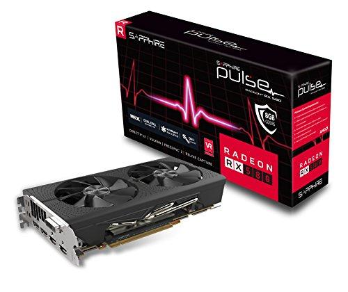 SAPPHIRE Radeon 11265-05-20G Pulse RX 580 8GB GDDR5 Dual...
