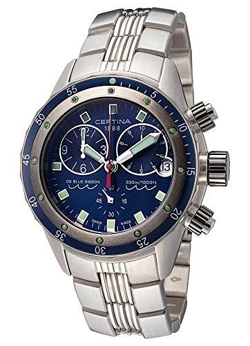 Certina Herren-Armbanduhr DS Blue Ribbon Chronograph Datum Analog Quarz C007.417.11.041.00