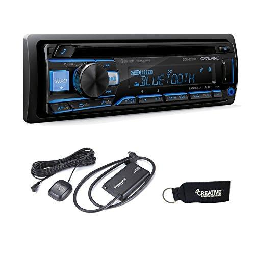 Alpine CDE-172BT CD Receiver with Bluetooth & SiriusXM Satellite Tuner