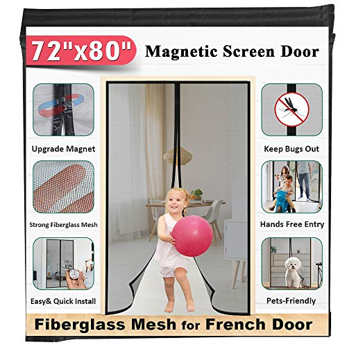 510O8q2tEGL - 7 Best Magnetic Screen Doors for Keeping Bugs Out Of Your Home