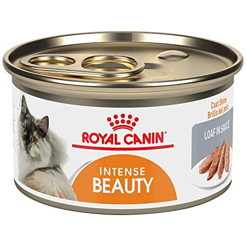 Royal Canin Intense Beauty Loaf in Sauce Wet Cat Food for Skin & Coat, 3 oz., Case of 24, 24 X 3 OZ