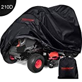 Eventronic Riding Lawn Mower Cover, Riding Lawn Tractor Cover Waterproof Heavy Duty Durable (210D-polyester Oxford)
