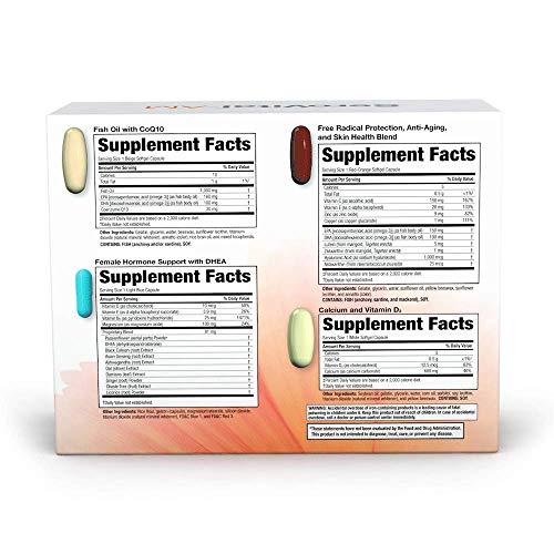 SeroVital Multivitamin Pack for Women - Hair Nails and Skin Vitamins for Women - Women Hormone Support Supplements - DHEA Supplement - Vitamins for Women - 30 Nutripacks 2