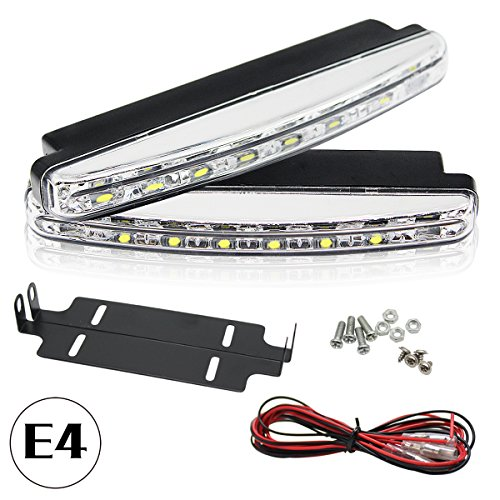 PLC020 -Luce LED 5050SMD, R87,E4, luce di marcia diurna approvata per legge